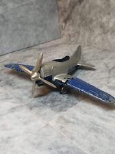 Vintage Hubley Kiddie Toy WWII fighter propeller plane