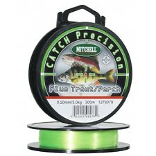 Nylon Mitchell Catch Precision Fluo Truite/perche 0.20mm 3.000kg 300m