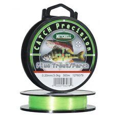 Nylon Mitchell Catch Precision Fluo Truite/perche 0.18mm 2.420kg 300m