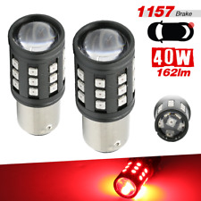 1157 BAY15D LED Red 2-Bulb 3030 Chip High Power Bright Brake Tail Stop Light