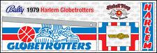 Bally Harlem Globetrotters Pinball Cabinet Stencils • Pinball Pimp Premium •