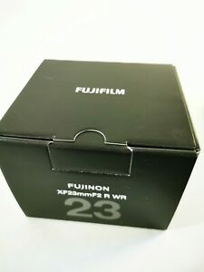 fuji 23mm f2 Weather Resistant WR lens boxed like N