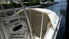 Mako center console boat BOW DODGER ,boat shade, boat tent ,boat cover canopy LG