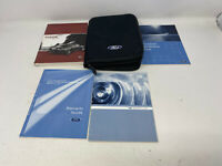 2010 Ford Fusion Owners Manual Handbook Set with Case OEM Z0A1754