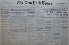 6-1933 WWII June 20 AUSTRIA OUTLAWS ALL REICH ACTIVITIES. NEW GUN SPEEDS BREAK