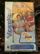 Video Now Color 3 Disc Pvds Pack The Amanda Show As1 Nickelodeon 2004 Hasbro New