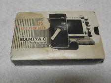 New Vintage MAMIYA Professional Camera TLR C220 C Series Film Back JAPAN NOS NIB