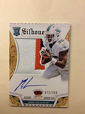 MIKE GILLISLEE 2013 Crown Royale Silhouettes AUTO Autograph Jersey Relic 072/299