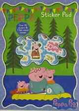 PEPPA attività Pad Adesivo Pig Set, 7 scene, 30+ Adesivi, Creativo, Divertente Regalo.