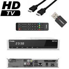 Protek 9911 LX E2 Linux HDTV Full HD 3D Sat Receiver 1x DVB-S2 inkl. Wlan