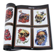 Skulls Skeleton Design Tattoo Reference Book Sketch Picture Instruction 52 Pages