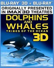 DOLPHINS AND WHALES 3D IMAX New Sealed Blu-ray 3D + Blu-ray