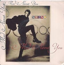"45 TOURS / 7"" SINGLE--STING--MAD ABOUT YOU--1991"