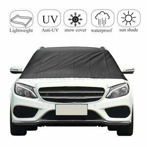 Winter Car Windscreen Magnetic Windshield Cover Anti Ice Snow Sun Rain Dust  +
