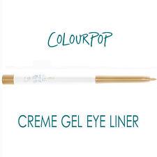 ColourPop Creme Gel Eye Liner - DIRTY TALK - soft metallic gold