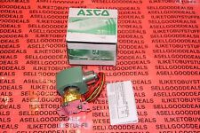 "Asco 8262H208MB Solenoid Valve 1/4"" NC 110/120VAC New"