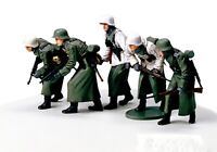 35256 Tamiya German Assault Infantry (Winter) 1/35th Plastic Kit 1/35 Military
