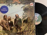 America  – Hat Trick LP 1973 Warner Bros. BS 2728 w/ Hype in Shrink Promo EX++