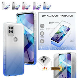 For Motorola MOTO G60 G50 G30 G9 Plus Power PET 360° Protective Clear Phone Case