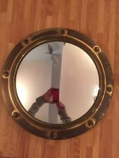 Brass Frame Round Vintage/Retro Decorative Mirrors