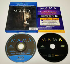 Mama (Blu-ray/DVD, 2013, 2-Disc Set, Includes Digital Copy UltraViolet) Complete