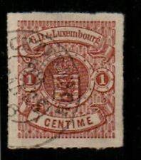 Luxembourg Scott 13 Used XF (Catalog Value $325.00)