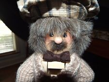 """Zims Nutcracker Golfing Grandpa Golfer 14"""" Limited Edition Collectible 1997"""