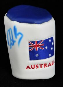 Robert Allenby PGA Signed Australia Golf Head Cover JSA Authenticated