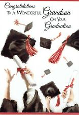 To A Wonderful GRANDSON on Your GRADUATION Card