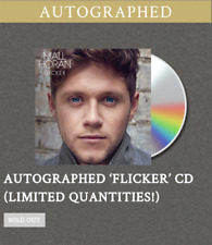 "Niall Horan ""Flicker"" Autographed CD Official Sold Out USA One Direction Signed"