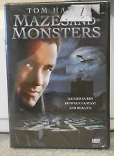 Mazes and Monsters (DVD, 2006) RARE TOM HANKS 1982 1ST MOVIE / TV  BRAND NEW