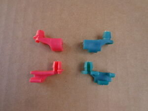 4 NOS DOOR LOCK ROD CLIPS! 70's MOPAR A B C E BODY, CUDA GTX CHARGER ETC 5853F
