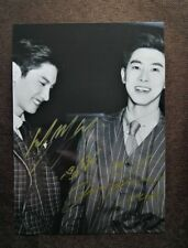 signed TVXQ 東方神起 Changmin Max Yunho U-Know autographed group photo 5*7 112018C