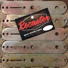 Recaster Satinized Relic Traditional Tele Telecaster Control Plate 32x160mm