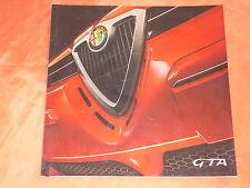ALFA ROMEO 156 GTA + Sportwagon GTA Prospekt von 2001