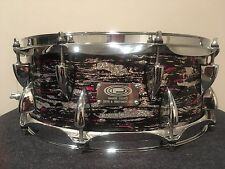 Ocdp Pink Grey Adrian Young Snare-5.5X14 Orange County Drum Percussion USA