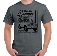 Land Rover Defender Manual Haynes Style Mens Funny 4X4 T-Shirt 90 110 Landy Jeep