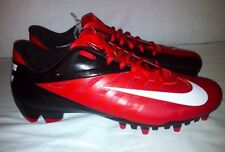 Brand New Nike Vapor Pro Low TD Football Molded Cleats Men's Sz 13 Red/Black