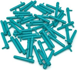 Lego 50 Nuevo Oscuro Turquesa Cilindro 1 x 5 1/2 Con BAR Mango Fricción Cilindro