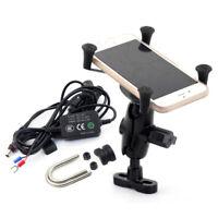 MobilePhone Mount Holder USB Charge For DUCATI STREETFIGHTER/MONSTER/SCRAMBLER