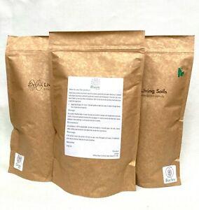 Living Soils - Organic Dry Amendment Fertiliser - AUTO Bundle (3 x 1000ml)