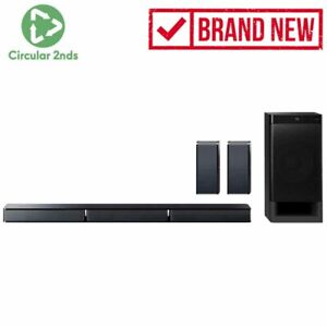 SONY 5.1 CHANNEL SOUNDBAR REAR SPEAKERS HTRT3 BLUETOOTH SUBWOOFER HOME THEATER