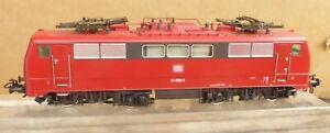 Märklin 2862 H0 aus Set E-Lok BR 111 068-3 orientrot der DB Epoche 4/5 analog