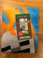 Minecraft Skeleton Beach Towel, brand new