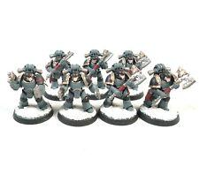 Warhammer 40k Ejército Espacio Marines Espacio Lobos 7 Man Squad Pintado
