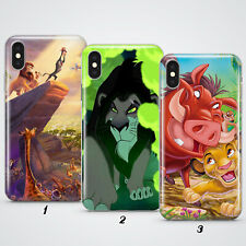 The Lion King Simba Cartoon Gift Phone Cover Case For Apple iPhone 12 8 7 6 5 X