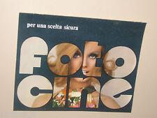FOTO CINE 1968 DEPLIANT CATALOGO BROCHURE BOLEX ROLLEI DURST BRAUN GAF AU3