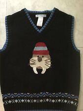 Janie And Jack  Boys Sweater Vest Size 5T