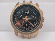 2007 - Swatch Irony Retrograde YRG400 - Serious Affair - Chronograph Wrist Watch