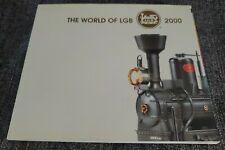 The World of LGB 2000 G Scale Model Train Catalog